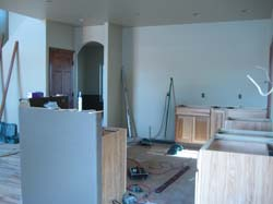 Breakfast Nook, Kitchen to Arch Entry Dining Room